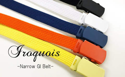【Iroquois】/ Narrow GI Belt