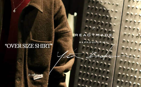 "READYMADE ""OVER SIZE SHIRT""スタイリング★"