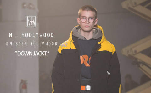 "H.HOOLYWOOD ""Down Jacket"""