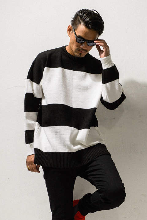 drop loose sweater