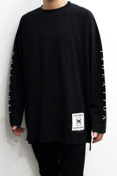 Print L/S Over Cut and Sewn Type-A