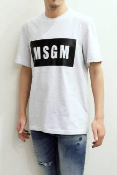 T-SHIRT WITH BOX LOGO